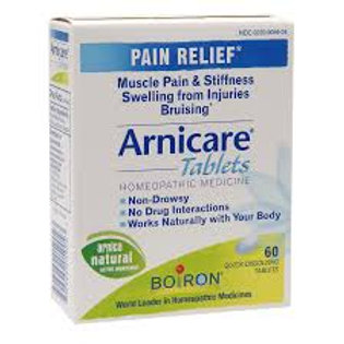 Arnicare Tablets Homeopathic Medicine 60 count Quick Dissolving Tablets