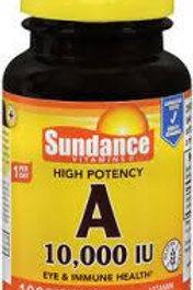 High Potency A 10,000 IU Vitamin Supplement 100 QR Softgels