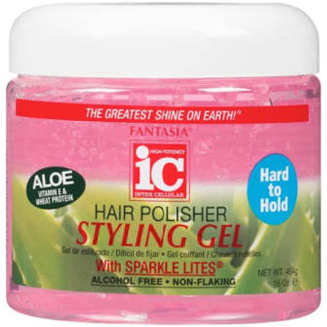 IC HARD TO HOLD STYLING GEL 16 OZ