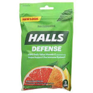 HALLS DEFENSE Assorted Citrus Flavor