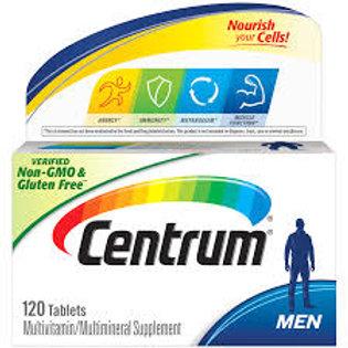 Men, Complete Multivitamin & Multi-mineral Supplement 120 Tablet