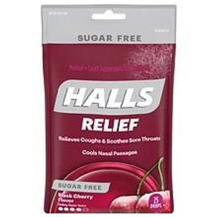 HALLS RELIEF Black Cherry Flavor 25 Drops