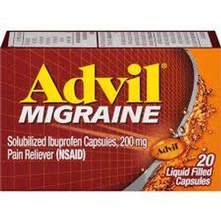 Advil Migraine Capsules-200 mg-20 Count
