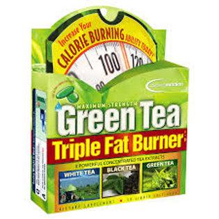 Green Tea / Maximum Strength/ Triple Fat Burner, 30 Liq Softgels