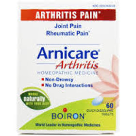 Arnicare Arthritis, Tablets - 60 count By Boiron