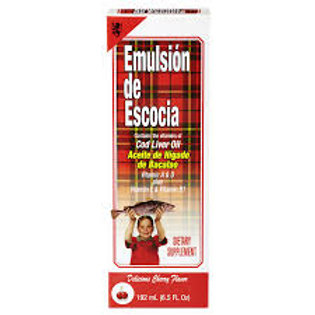 EMULSION DE ESCOCIA CHERRY 6.5 OZ.