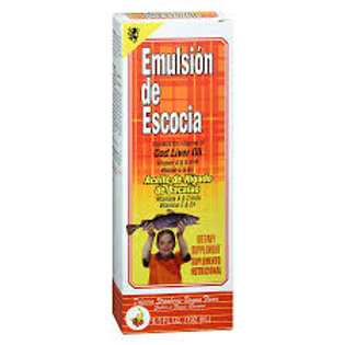 EMULSION DE ESCOCIA STRAWBERRY-BANANA 6.5 OZ.