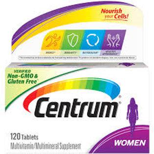Centrum Women Complete Multivitamin & Multimineral Supplement 120 Tablet
