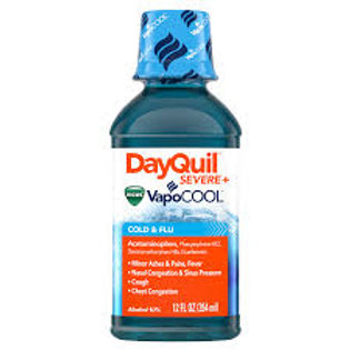 DayQuil SEVERE with Vicks VapoCOOL, 12