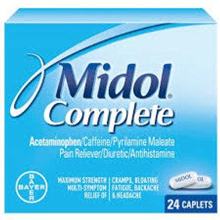 Midol complete 24 Caplets