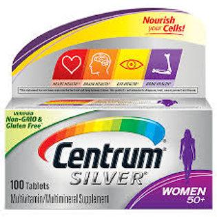 Centrum Silver Women Complete Multivit & Multimineral Supple Age 50+ 100 tablet