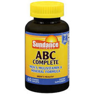 Sundance ABC Complete Men's Multivitamin & Mineral Formula Dietary Supplement, 6