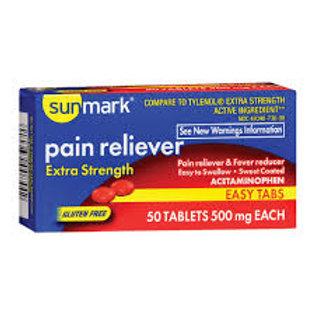 Acetaminophen 500 mg 50 counts