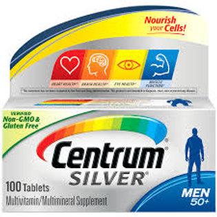 Men 50+ Multivitamin/Multimineral Supplement 100 Tablets