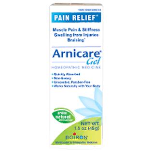 Boiron Arnicare Topical Pain Relief 1X Strength Arnica Montana Topical Gel 1.5 o