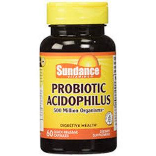 PROBIOTIC ACIDOPHILUS 500 MILLION 60 Capsules