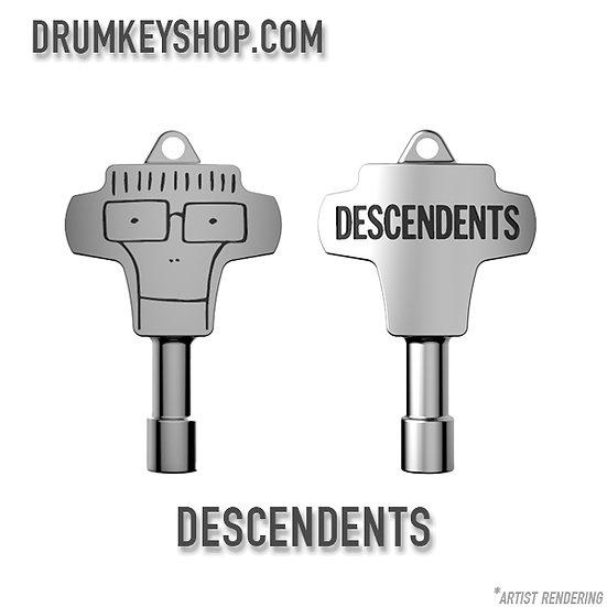 Descendents Signature Drum Key