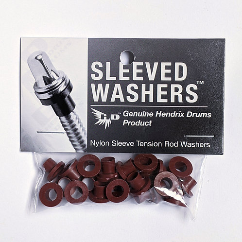 Oxblood Sleeved Washers