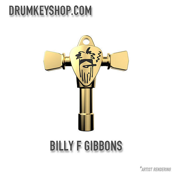 Billy F Gibbons Signature Drum Key