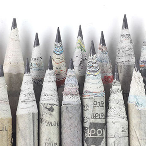 Newspaper Pencils (Set of 10)