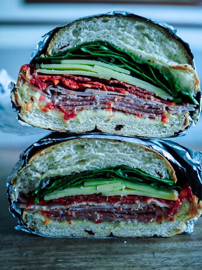 Cheeseboard Sandwich