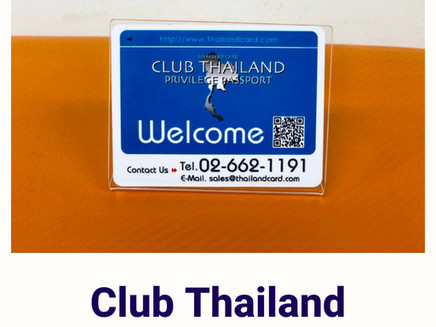 Promotion for Club Thailand Member