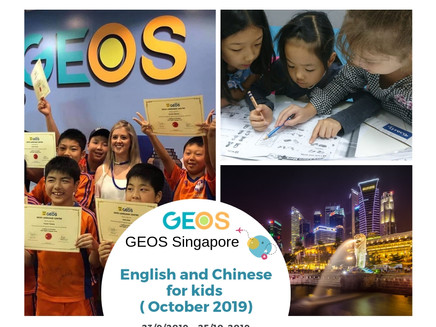 English and Chinese for kids ( October 2019 ) GEOS Singapore