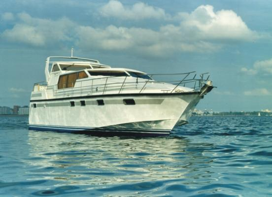 Моторная яхта проект 02090