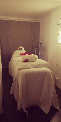 Behandlingsrum - sängen 2