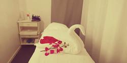 Behandlingsrum - sängen 1