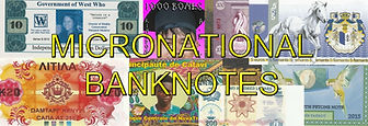 British Transition Towns & Micronational Banknotes UK