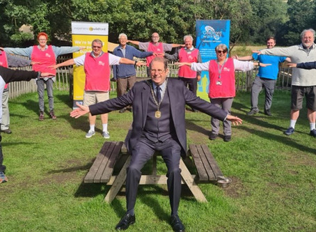 Guildford Walkfest - LAUNCHED!