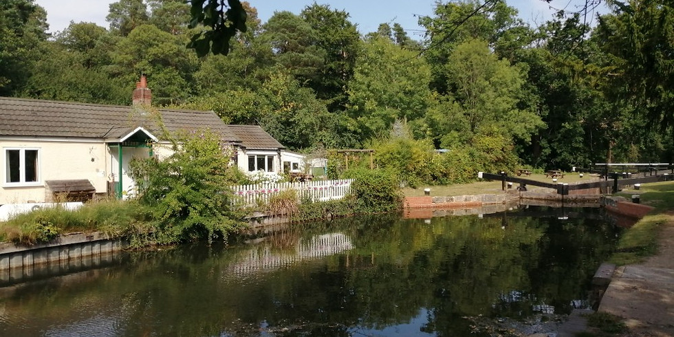 Basingstoke Canal from Woking to Ash Vale