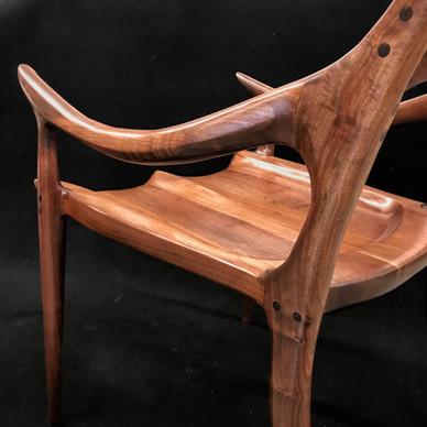Hand Sculpted Chair