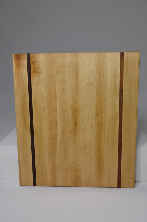 Maple Cutting Board with Walnut Stripes (4)