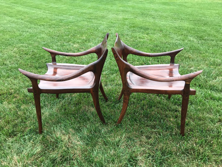 Sculpted Chairs