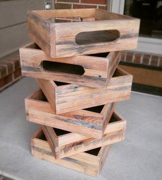 Reclaimed Oak Boxes