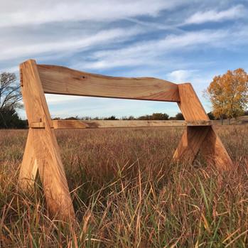 Aldo Leopold Inspired Bench