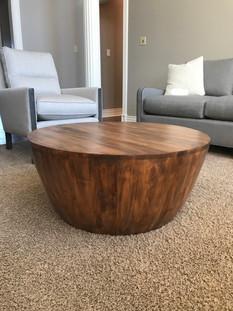 Turned Walnut Coffee Table