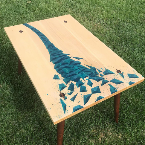 Custom Miniature Conference Table