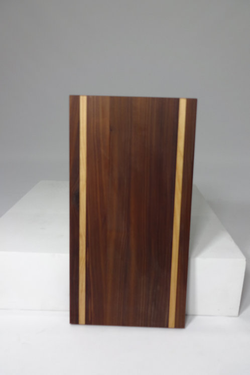 Walnut Cutting Board with Maple Stripes (1)