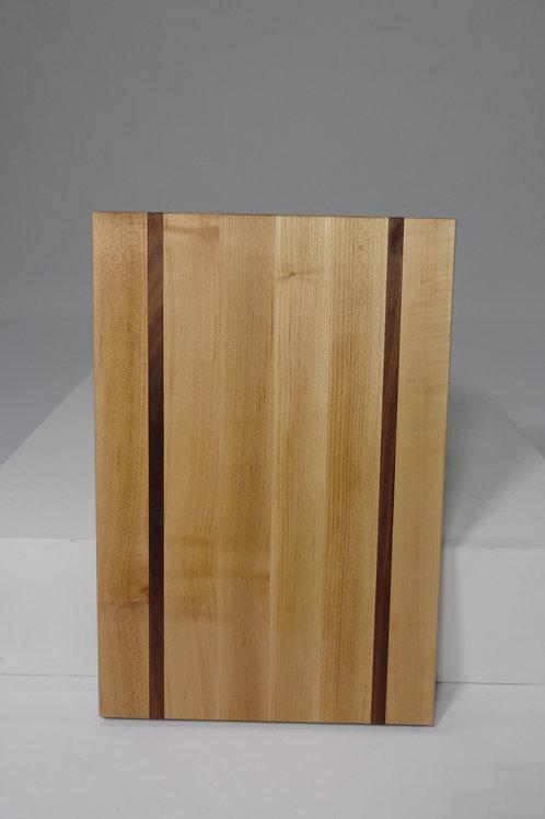 Maple Cutting Board with Walnut Stripes (5)