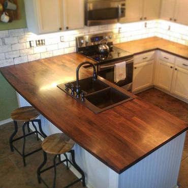 Walnut Kitchen Counters