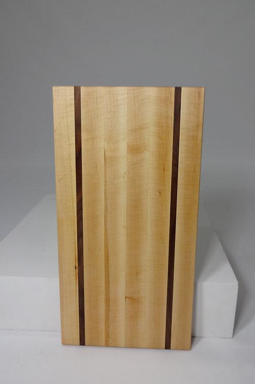 Maple Cutting Board with Walnut Stripes (1)