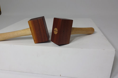 Walnut and Maple Mallet