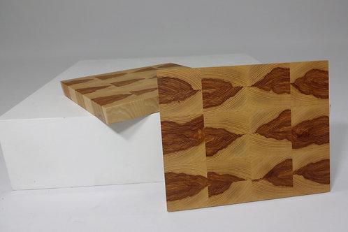 Hickory Endgrain Cutting Board