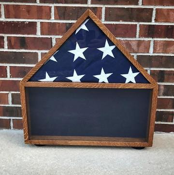 Veterans flag case