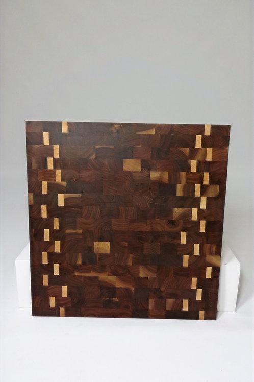 Walnut and Maple Endgrain Cutting Board