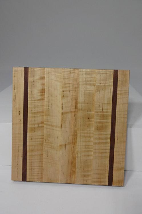 Maple Cutting Board with Walnut Stripes (6)