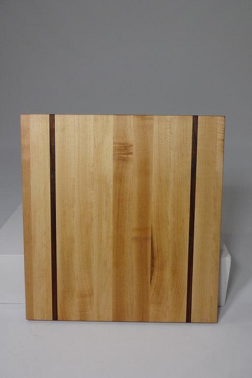 Maple Cutting Board with Walnut Stripes (3)